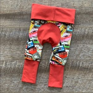 Other - Retro Cassette Grow With Me Pants